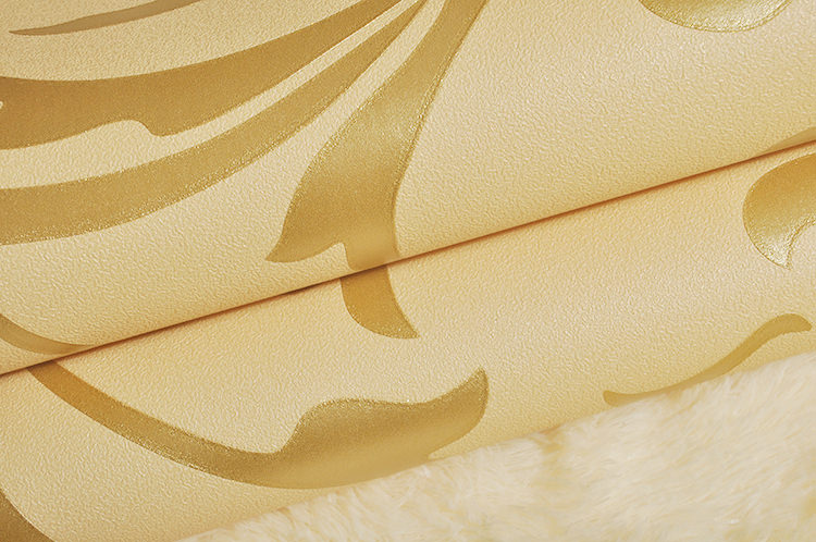 Groupon Wallpaper Deal|Gold Wall paper